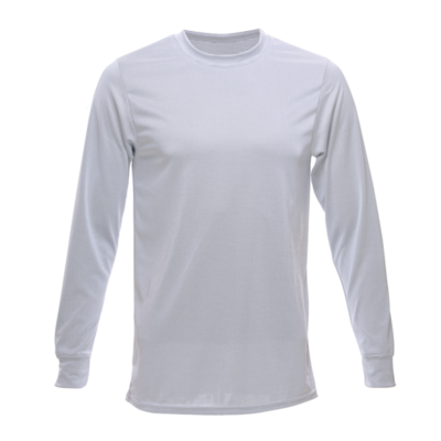Unisex Long Sleeve Bamboo Dry Shirt, Grey