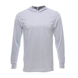 Unisex Long Sleeve Hoodie Bamboo Dry Shirt, Grey