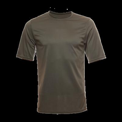 Unisex Short Sleeve Bamboo Dry Shirt, Olive