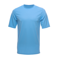 Unisex Short Sleeve Crew Dry Shirt, Carolina Blue