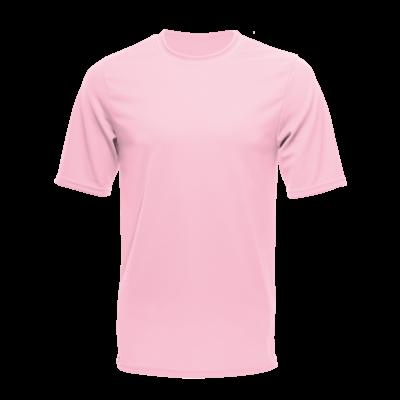 Unisex Short Sleeve Dry Shirt, Light Pink