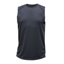 Unisex Sleeveless Dry Shirt, Black