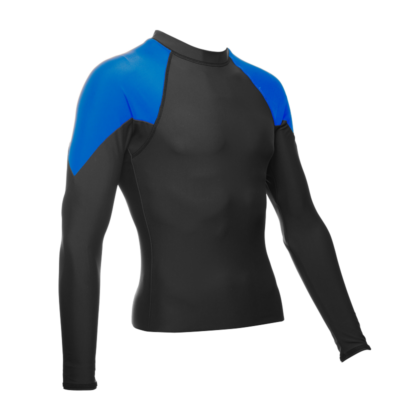 Long Sleeve Men's Diamond, Royal/Black